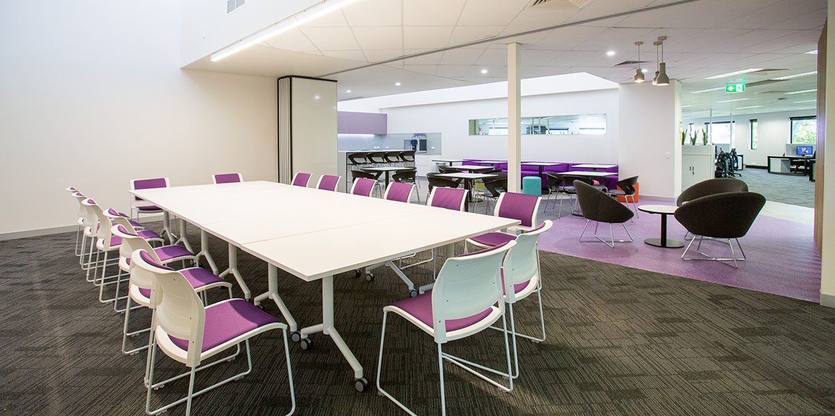 Office design refurbishment and fitouts evoke projects for Office refit