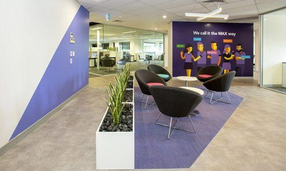 max solutions office interior design contstruction