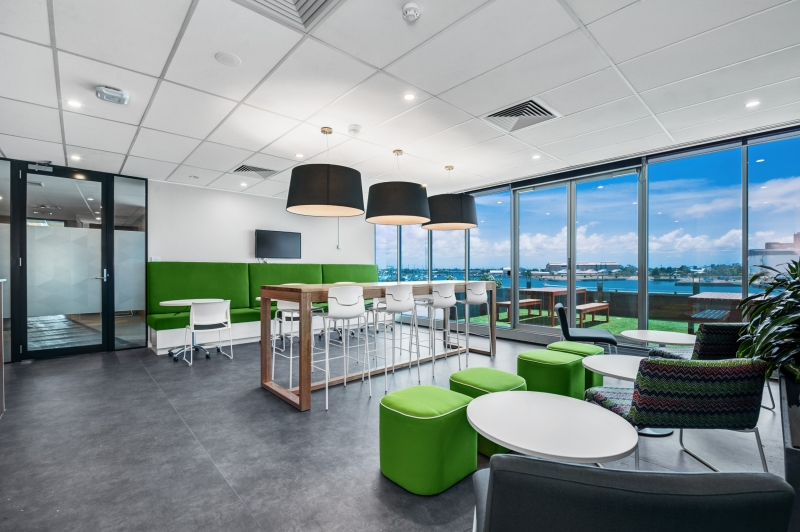 fairfax media office design and fit out newcastle