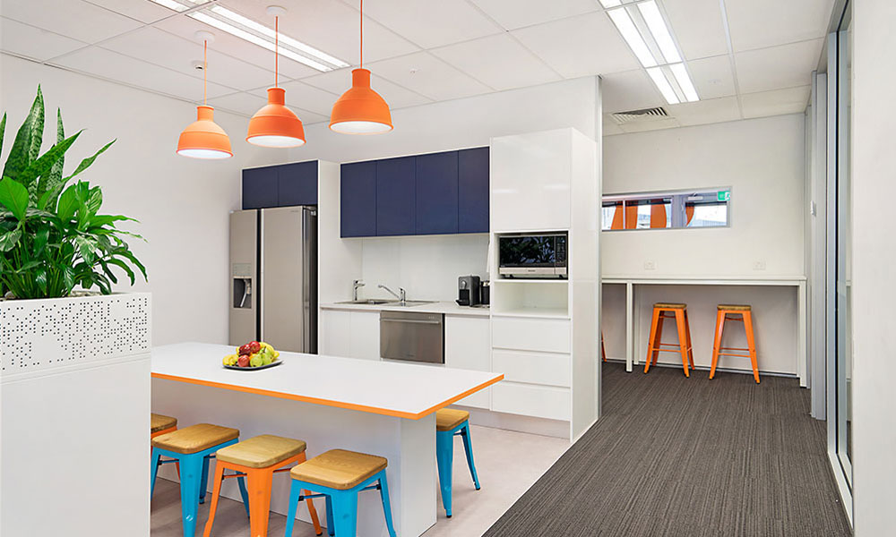 Phoenix health fund new office fit out portfolio for Home designs newcastle nsw
