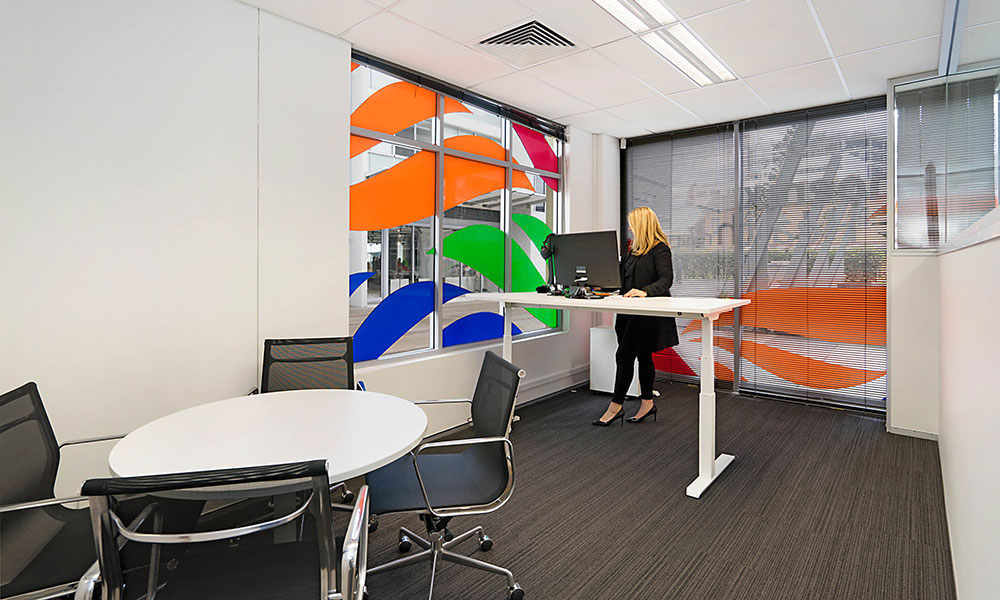 Phoenix health fund new office fit out portfolio for Office design wellbeing