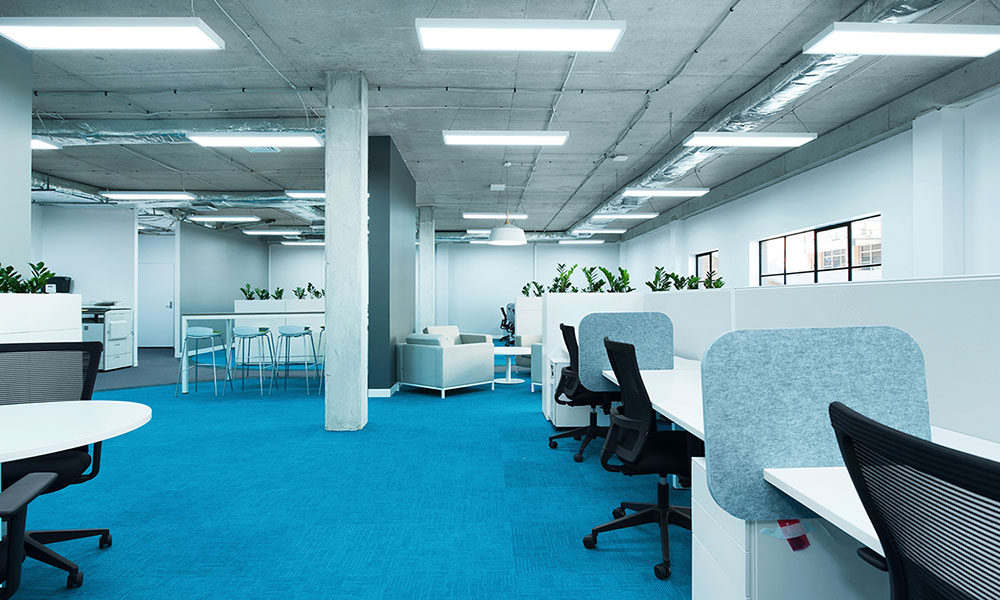 Office design and fit out for skildare human resources in for Office design newcastle