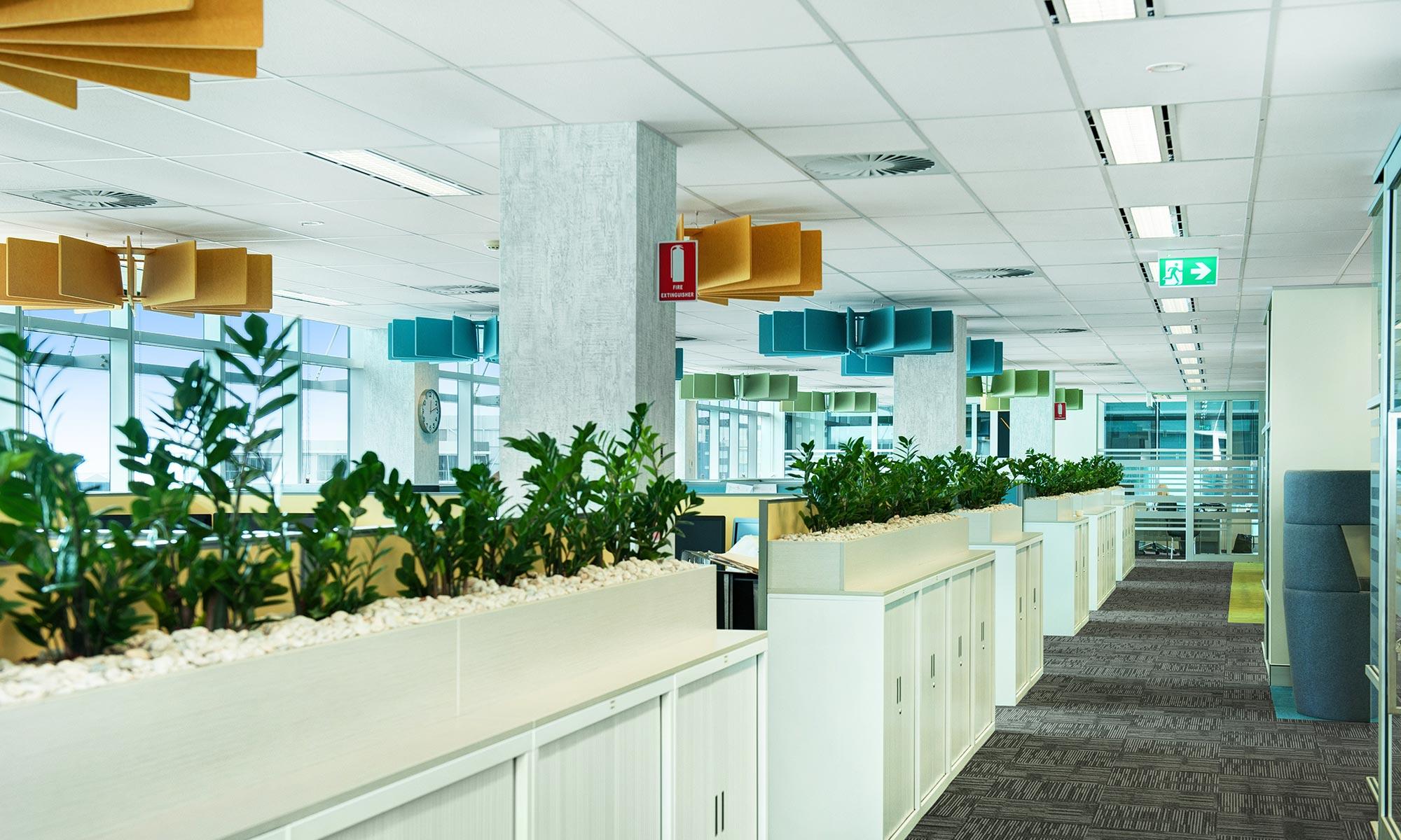 Zenviron open plan office design office fit out in newcastle for Office design newcastle