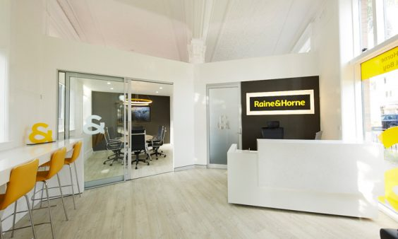 Raine and Horne office fitout