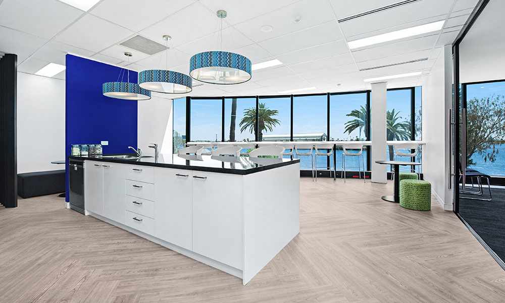 Integrated Living Office Design