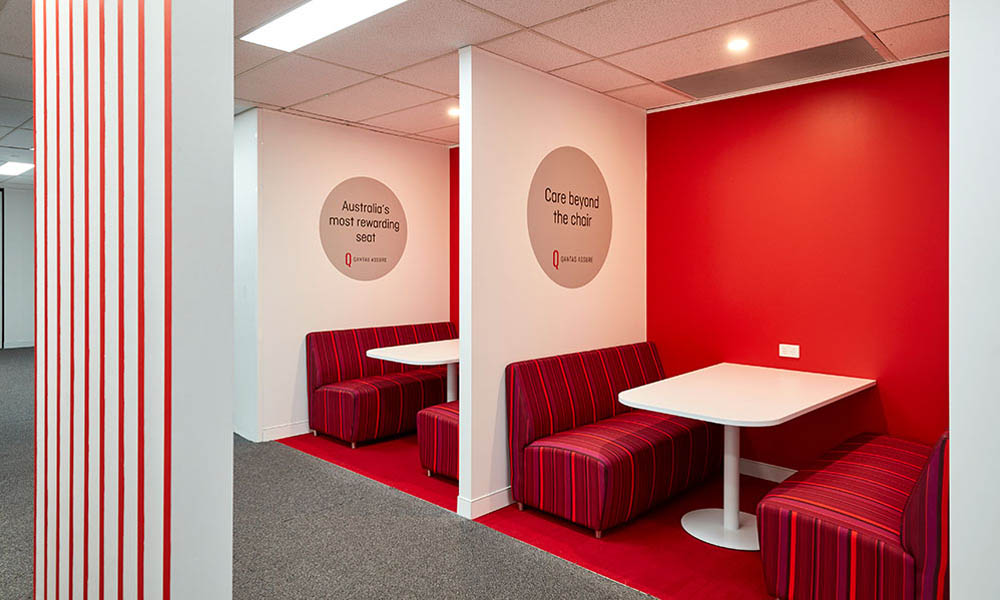 Qantas office Design Fitout 02