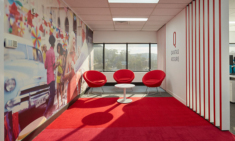 Qantas Office Design
