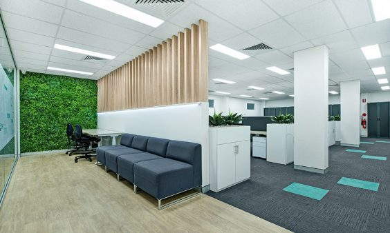 karben training office design-fit out