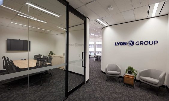 lyon group office design fitout sydney