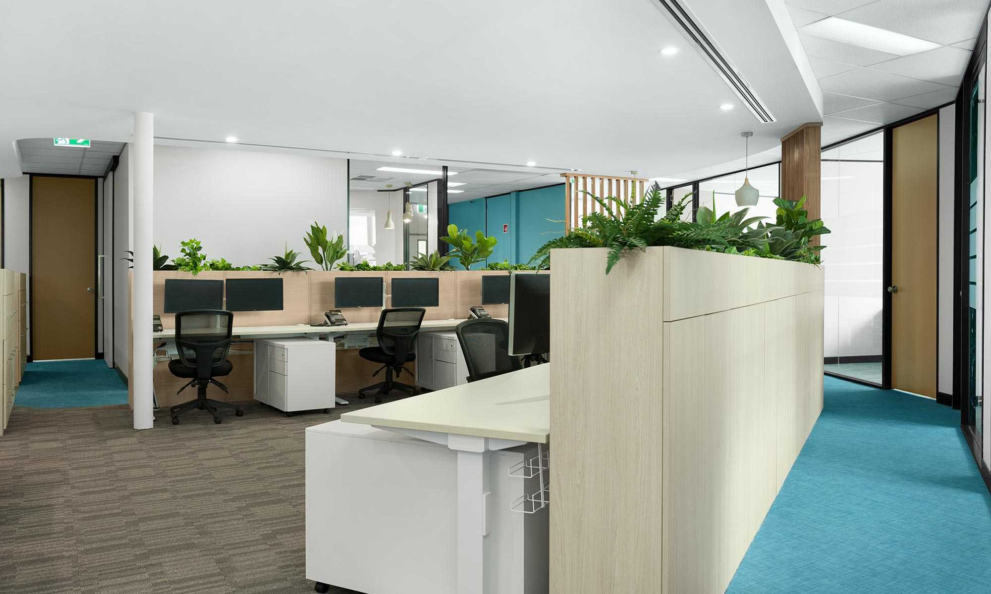 klm accountants office design fitout newcastle 02