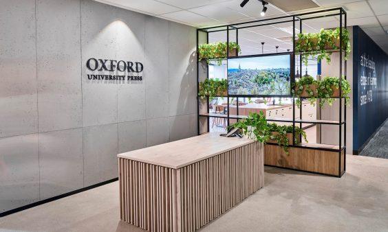 Oxford University Press - Office Fitout Melbourne | Evoke