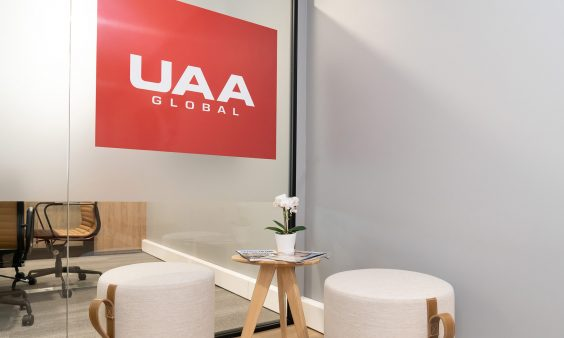 UAA Newcastle office fitout