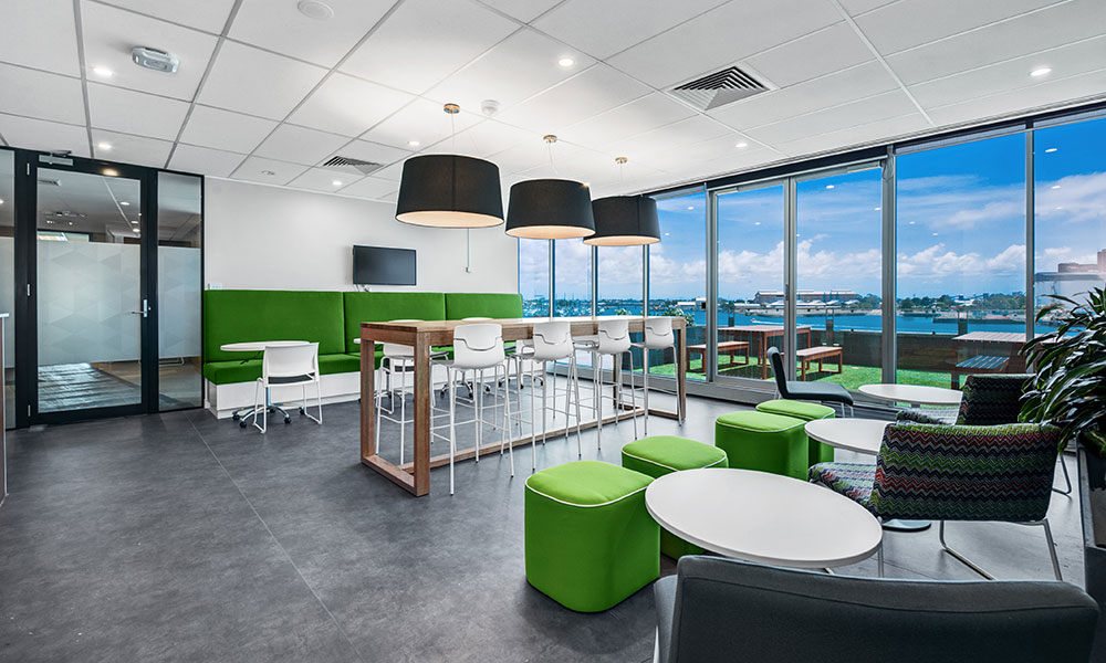 fairfax media office fit out