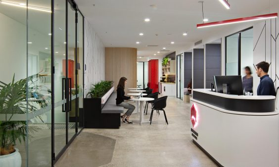 Engineers Australia Market Workplace Fitout
