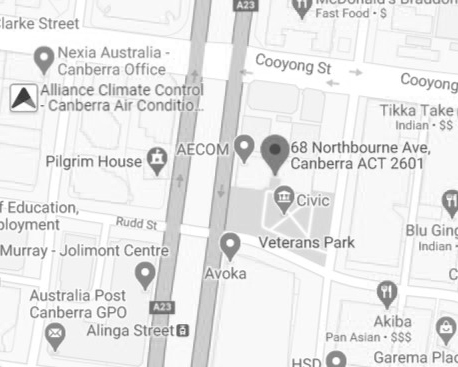 Location Canberra